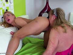 Busty mature moms teaching daughters